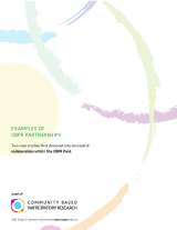 Download Examples of CBPR Partnerships